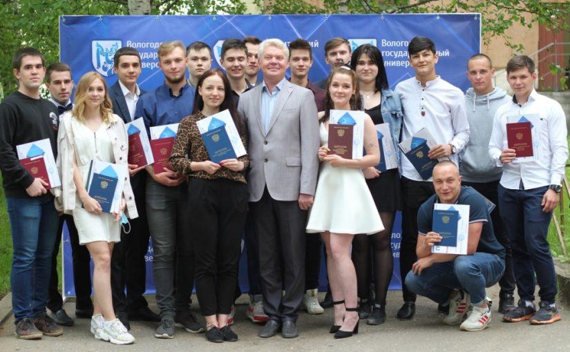 151st graduate of VSU University College received a graduation certificate