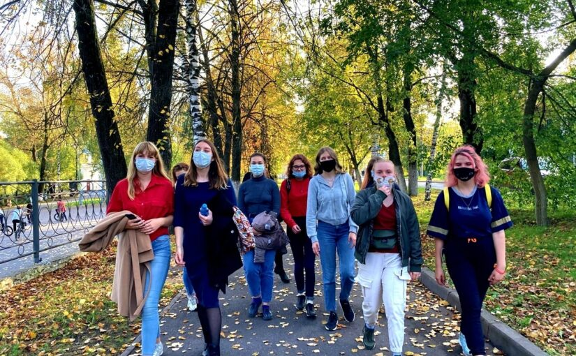 VSU first-year students visited the world of Middle Ages