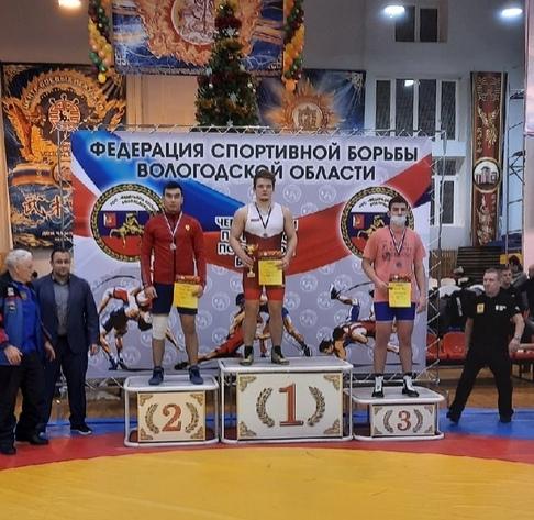 "VSU international student won ""silver"" in the wrestling championship"
