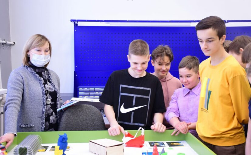Pupils visited the House of Scientific Collaboration