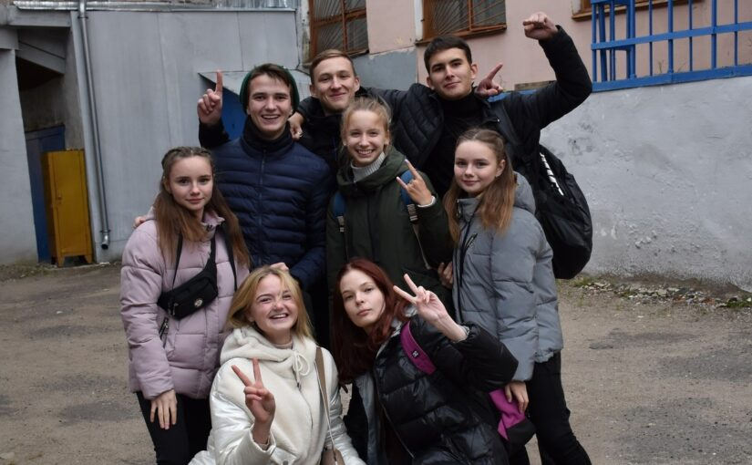 "VSU first-year students took part in the quest ""Tabula rasa"""
