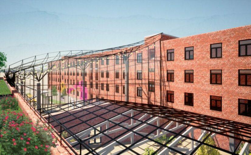 VSU graduate designed a project of the university building renovation